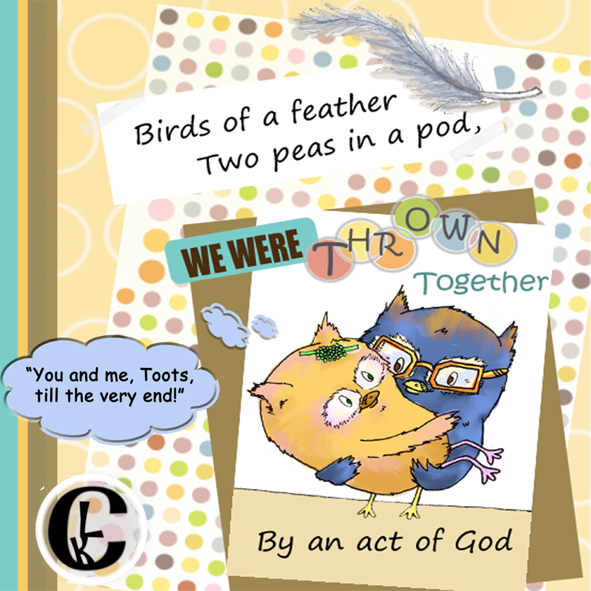 Birds of a Feather Pages2 WMb